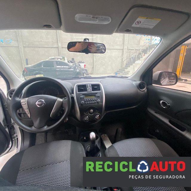 Sucata de Nissan march 2019 3cc para retirada de peças  - Foto 4