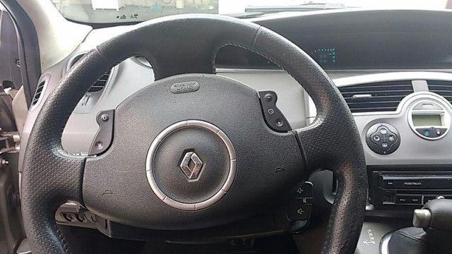 Megane Renault Grand Scenic Dinamike 2.0 16 valvulas Automatica com GNV 2009 - Foto 8