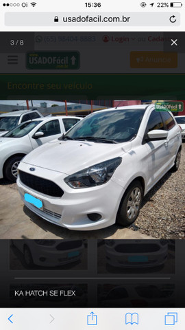 Ford Ka Hatch SE flex - Foto 3