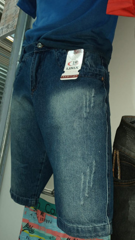 Neres Fashion / Bermudas Jeans - Foto 3
