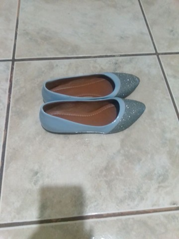Sapatilha azul 37  - Foto 2