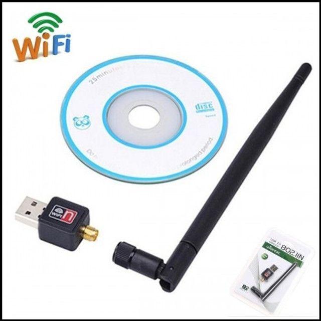 Adaptador USB Wifi com Antena 1200 Mbps - Foto 3
