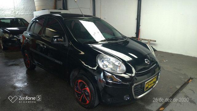 Nissan March 1.0 S Flex Revisado Kit Mult. Novo !! - Foto 2