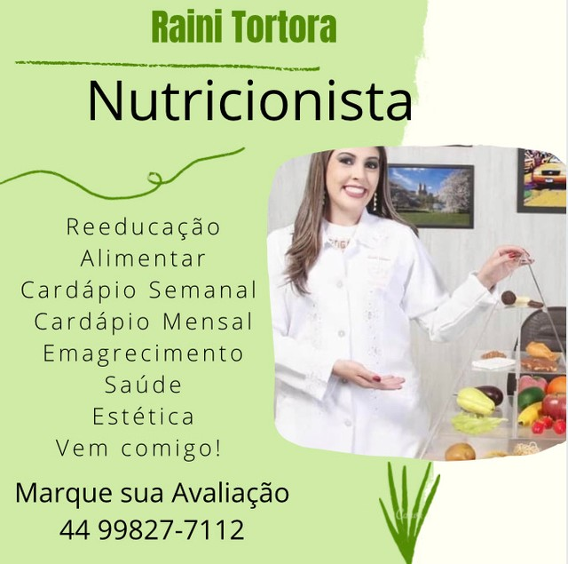 Nutricionista Raini Tortora