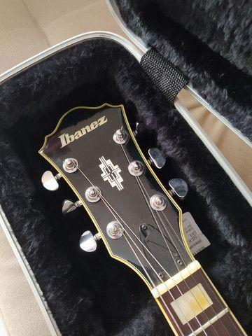 Guitarra Semi-acustica Ibanez AF75 + Case - Foto 2