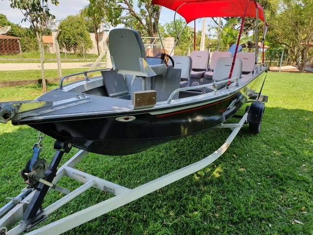 Lancha MG 190 Fishing 90hp Yamaha 2010 - Foto 6