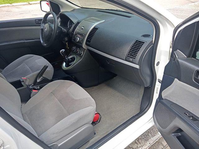 Nissan Sentra 2013 2.0 mec.branco(lindo!)completo+gnv+revisado+novíssimo!! - Foto 6