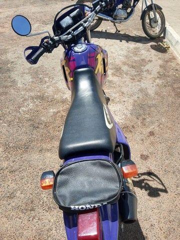 XR 200 moto pra coleção nada pra fazer filé toda  - Foto 3