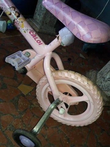 Bike Infantil Princesas - Foto 5