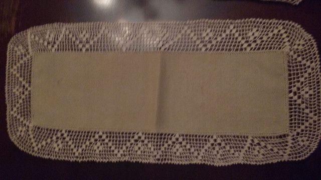 Crochet com linho. - Foto 2