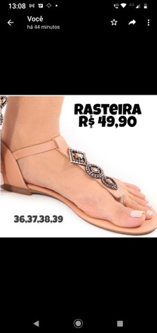 Rasteirinha/sandália - Foto 2