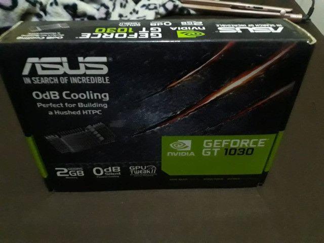 Placa gráfica Asus GeForce ® Gt 1030 2GB gddrR5 - Foto 2
