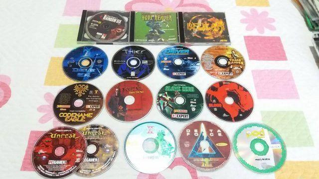 Coleção de jogos antigos de PC