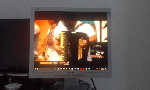 Monitor philips 170s lcd 17 polegadas