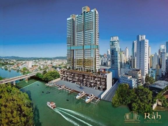 Oportunidade única com marina integrada, apartamento mobiliado decorado, centro Balneário