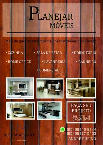 Planejar móveis projetados em mdf