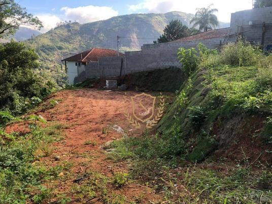 Terreno à venda, 1000 m² por r$ 180.000,00 - parque do imbui - teresópolis/rj