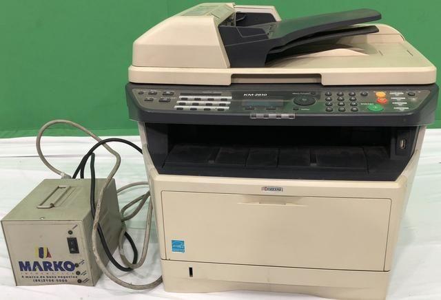 Vendo já impressora usada kiVendo impressora kiocera aceitamos cartões de crédito watsap - Foto 2