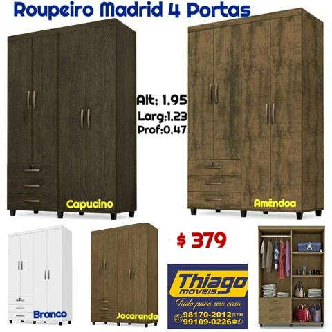Roupeiros (entrega e montagem) - Foto 2