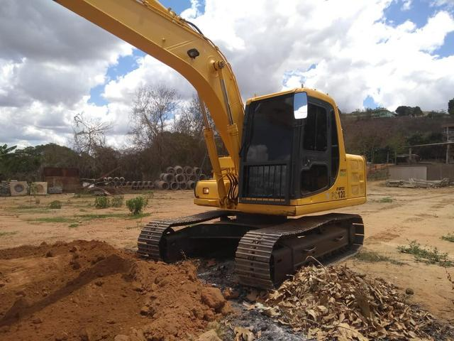 Escavadeira Pc 20 120 9.000 horas - Foto 5