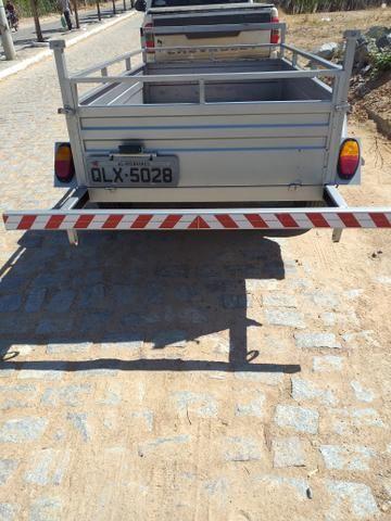 Carretinha de reboque para carro - Foto 2