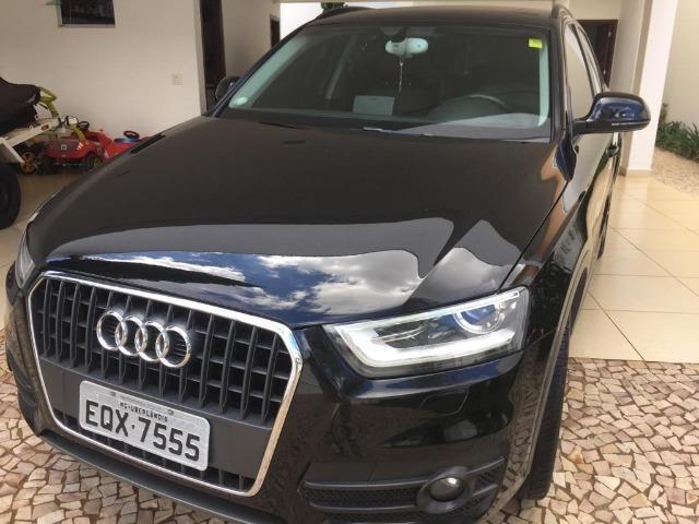 Audi Q3 2.0T Top com teto (Aceito trocas) - Foto 6