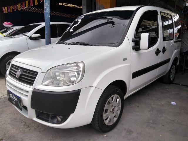 Fiat-Dobro atrac 1.4 7 lugares flex Financiamos Sem Comprovação de Renda - Foto 5