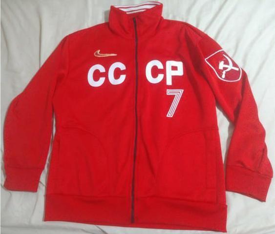 39a1a4433a Camisa e Agasalho União Soviética Cccp Urss Liga Retrô - Esportes e ...