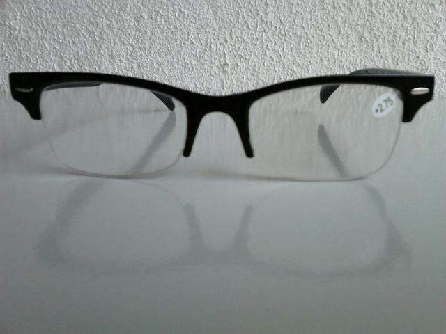 Armação p  Óculos de Grau Unissex Preto (Nova) - Bijouterias ... d81590f04f