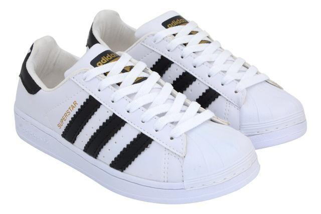 2901da5221 Tenis Adidas Super Star (cabeção)