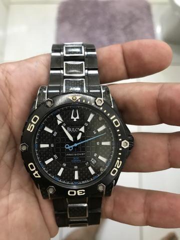 0d29615e8b9 Relógio BULOVA Modelo Precisionist - Bijouterias