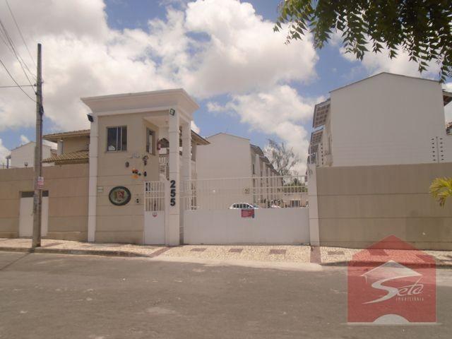 Casa com 3 dormitórios à venda, 75 m² por r$ 320.000 - serrinha - for