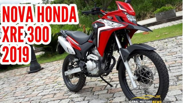 Motos Honda XRE 300 abs
