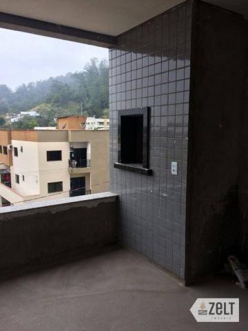 Apartamento com 3 dormitórios à venda, 91 m² por r$ 300.000 - sol - indaial/sc - Foto 17