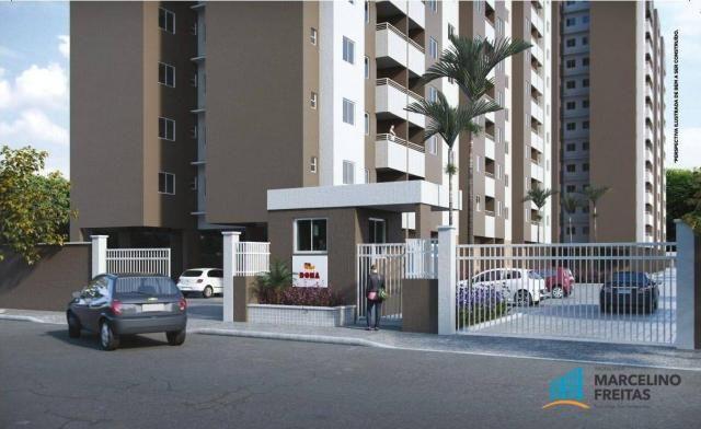 Apartamento residencial à venda, Messejana, Fortaleza - AP3030. - Foto 2