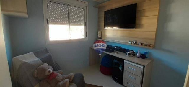 3 dormitórios com suíte, com vista expetacular - Foto 9