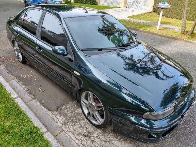 Fiat Marea SX 1.8 2002 . Suspensão a ar Rodas 17 Super Oferta Boa Vista Automóveis - Foto 7