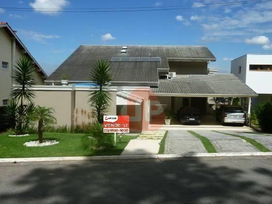 Casa com 4 dormitórios à venda, 474 m² por R$ 2.300.000,00 - Alphaville Residencial 10 - S