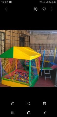 R$150,00 Aluguel de pula pula e piscina de bolinhas  - Foto 3