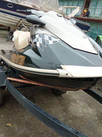 Jet ski Yamaha VX 110 apenas 98horas em água doce - Foto 2