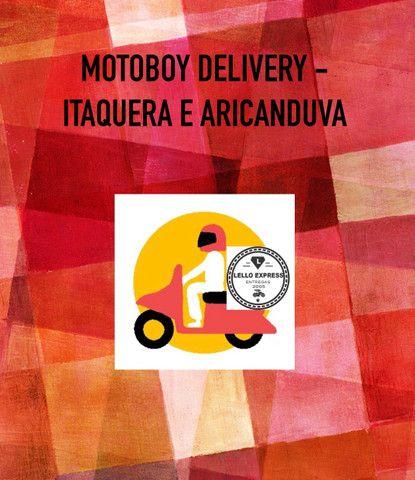 Motoboy delivery itaquera e aricanduva