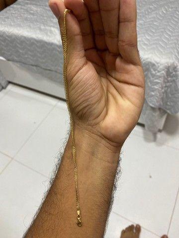 Pulseira de ouro 18k - Foto 2