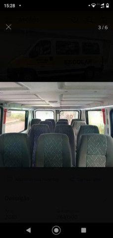 Peugeot Boxer minibus 2010 com CRM e linha  - Foto 5