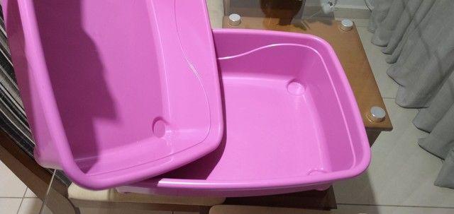 Banheiro de gato furba rosa - Foto 3