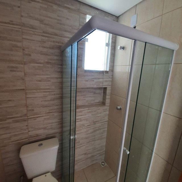 Apartamento novo 2º andar 2 quartos perto da praia em Barra Velha - Foto 12