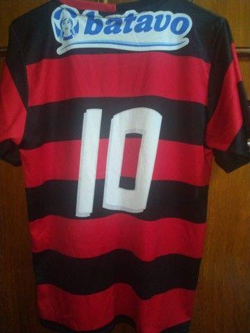 Camisa do Flamengo + Medalha  - Foto 2