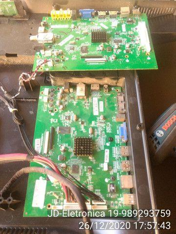 Placa tv Cce ln39g tenho fonte e placa principal