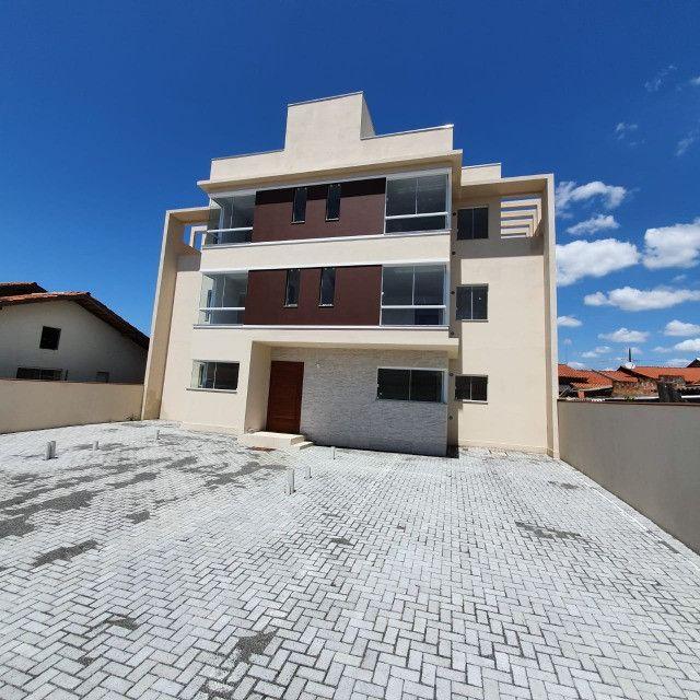 Apartamento novo 2º andar 2 quartos perto da praia em Barra Velha - Foto 17