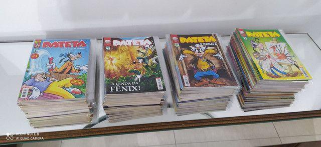 Coleção gibis pateta 3 série 1 ao 86 exceto edição 39- 75 e 82