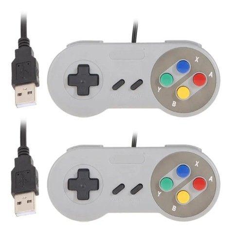 Super Nintendo Portátil 2100 Jogos - 2 Controles Promoção - Foto 3